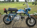1971 Honda Z50A Mini Trail monkey bike