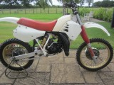 1995 Yamaha Virago 535cc and Yamaha YZ125 motorcross in the classic section