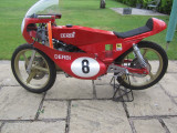 1986 Derbi 50cc in a British made Monocoques chassis