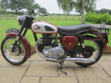 1958 BSA 500cc A7 Classic Motorcycle
