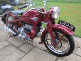 1940 Zundapp KS600 Civilian Bike