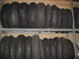 Various old used Tyres 16