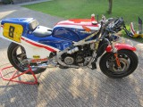 1983 Honda RS500 Ex Wayne gardner and Joey Dunlop machine